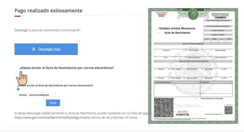 Photo of Así puedes imprimir tu acta de nacimiento desde casa