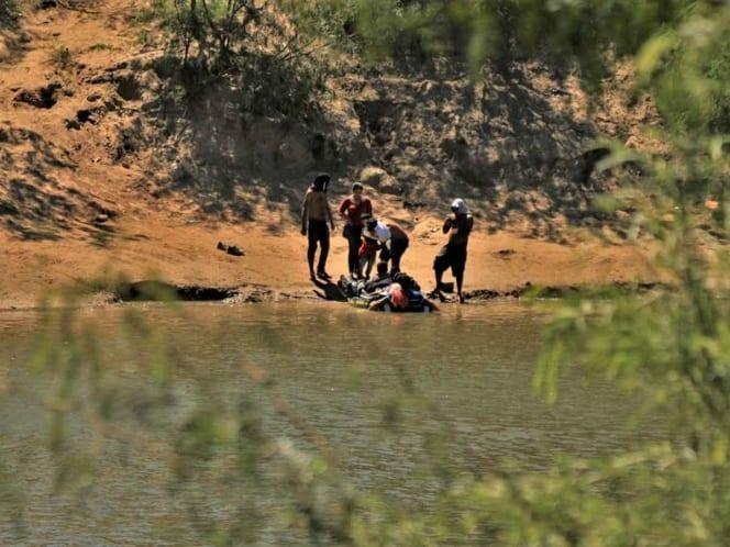 Photo of Bebé es rescatada y resucitada tras caer en el Río Bravo