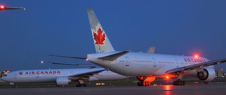 Photo of Pasajera de Air Canada se quedó dormida y despertó abandonada en el frío y oscuro avión
