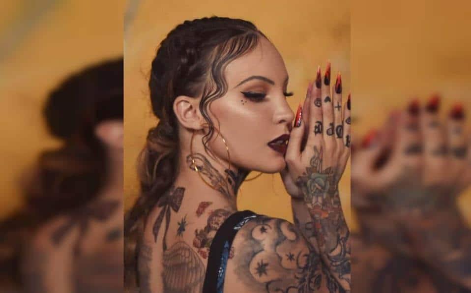 Photo of Belinda cambia de look y se tatúa el cuerpo completo