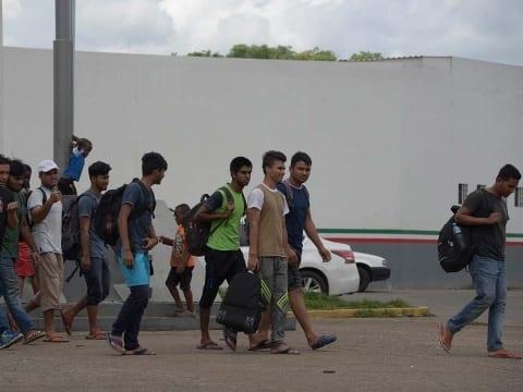 Photo of Llega nueva caravana migrante a frontera sur de México