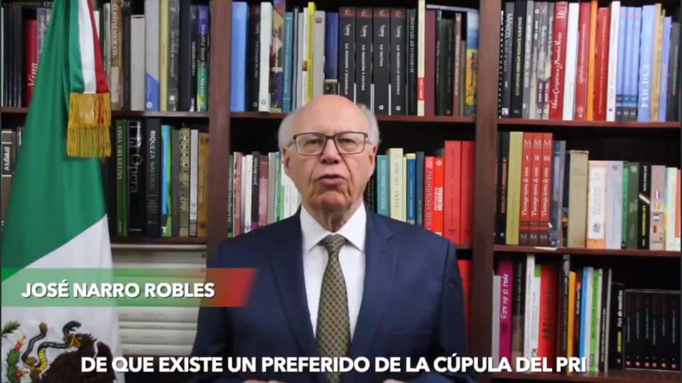 Photo of Renuncia José Narro al PRI tras 46 años de militancia; denuncia simulación y excesos de poder