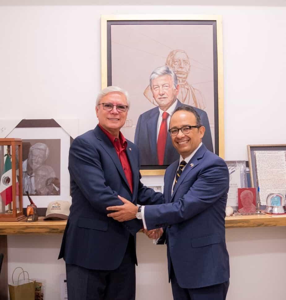Photo of Acuerdan agenda binacional Bonilla y Cónsul mexicano de San Diego