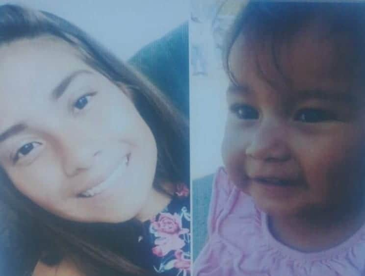 Photo of Paulina y su bebé están desaparecidas