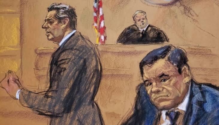 """Photo of Esto dijo """"El Chapo"""" antes de recibir sentencia"""