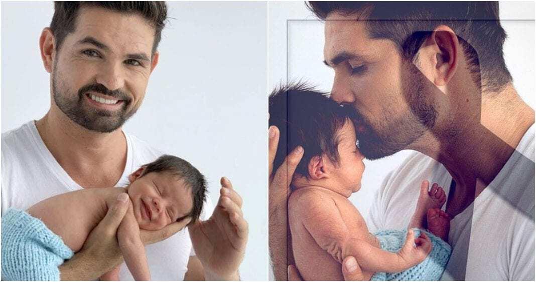 Photo of A sus tres meses fallece el bebé del actor Ferdinando Valencia