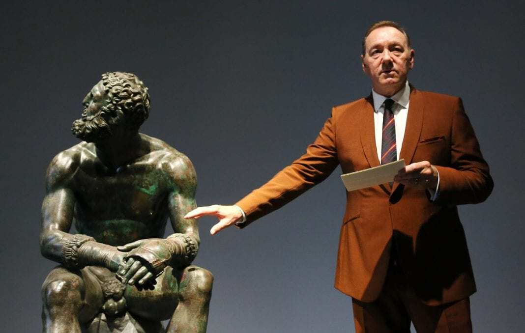 Photo of Kevin Spacey reaparece en público tras escándalo sexual