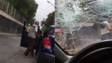 Photo of Surge #LadyPiñata tras enloquecer y destrozar parabrisas de auto