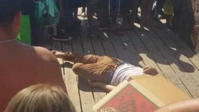 Photo of Pánico entre paseantes por asesinato en malecón de Playas