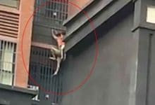 Photo of [VIDEO] Al estilo Spider Man un hombre salva a su sobrino de incendio