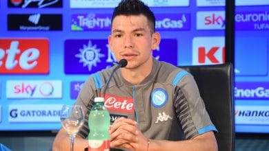 """Photo of """"Chuky"""" Lozano listo para debutar con el Napoli"""
