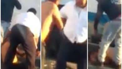 """Photo of La más """"brutal pelea"""" de camioneros que hayas visto"""