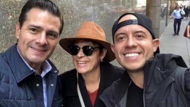 Photo of Peña en Nueva York como 'rockstar'