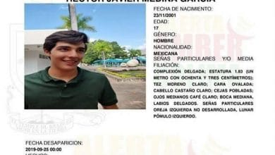 Photo of Hallan muerto a alumno del Tec desaparecido