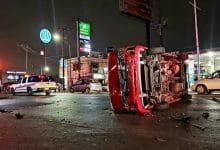 Photo of Esto provocó el aparatoso choque entre taxi y un focus en el Salinas