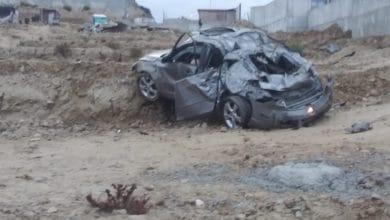 Photo of Otra volcadura fatal, ahora muere un policía