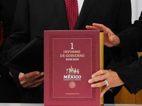 Photo of Primer informe de López Obrador disponible en internet