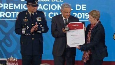 Photo of López Obrador entrega el Premio Nacional de Protección Civil