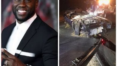 Photo of Kevin Hart sufre brutal accidente de auto