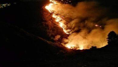 Photo of Incendios en Ensenada provocan cierre de carretera