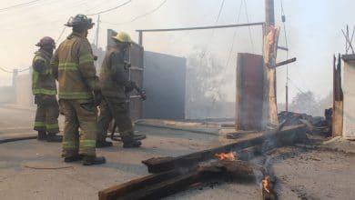 Photo of Incendio en casa cercana a ductos de Pemex en Rosarito