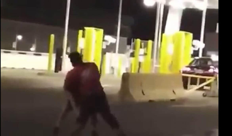 pelea en Garita