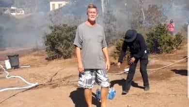 Photo of Estadunidense fue salvado de su casa en llamas