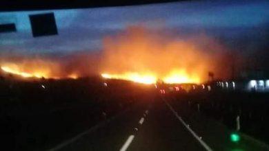 Photo of Carreteras a Ensenada cerradas por vientos de Santa Ana