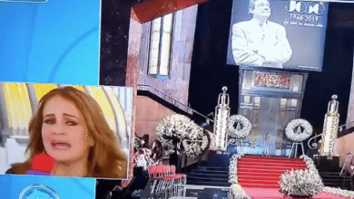 Photo of Flor Rubio se vuelve tendencia por actuación en funeral de José José