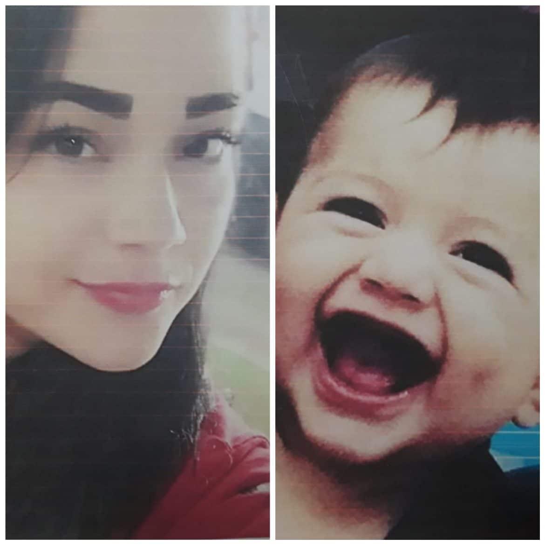 Madre e hijo desaparecen