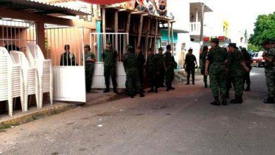 Photo of Velan a militar muerto en Culiacán, dejó dos niños