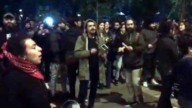Photo of Jóvenes protestan en Chile contra el toque de queda