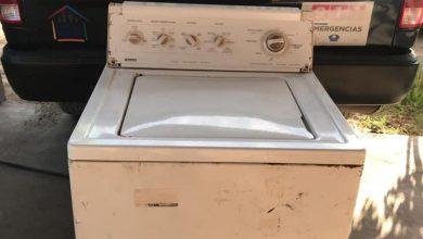 Photo of Le roba lavadora el novio; policía se la devuelve