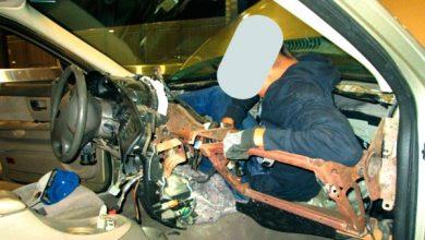 Photo of Cruzan migrante a EU escondido en tablero de auto