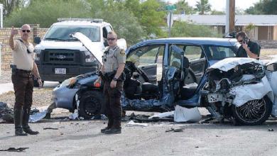 Photo of 'Pollero' desata persecución en I-8 y provoca grave accidente