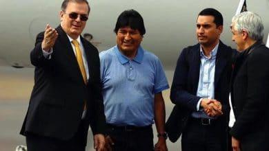 Photo of Evo Morales llega a México, agradece por salvarle la vida