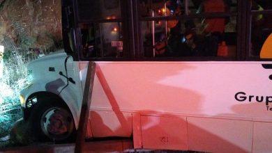Photo of Se impacta camión de personal en el 2000
