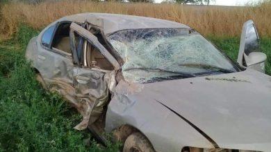 Photo of Accidente mortal: Un muerto y tres heridos deja choque y volcadura