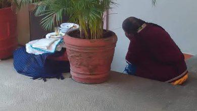 Photo of Captan triste a artesana por no poder vender sus servilletas