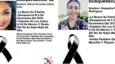 Photo of Hallan asesinadas en Sinaloa a jóvenes que iban de Los Cabos a CDMX