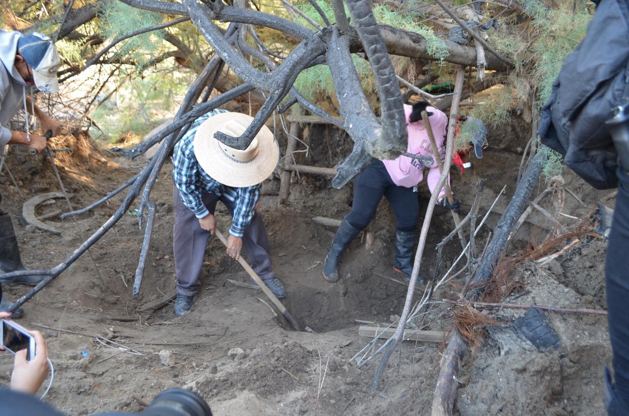 Continúa búsqueda de cuerpos en fosa clandestina hallada en Tijuana