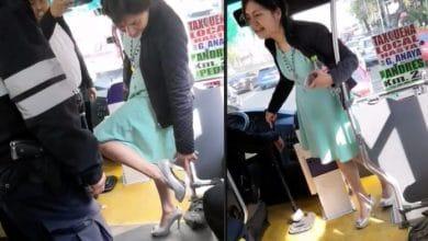 Photo of Por pelea entre chofer y usuaria surge #LadyTacones