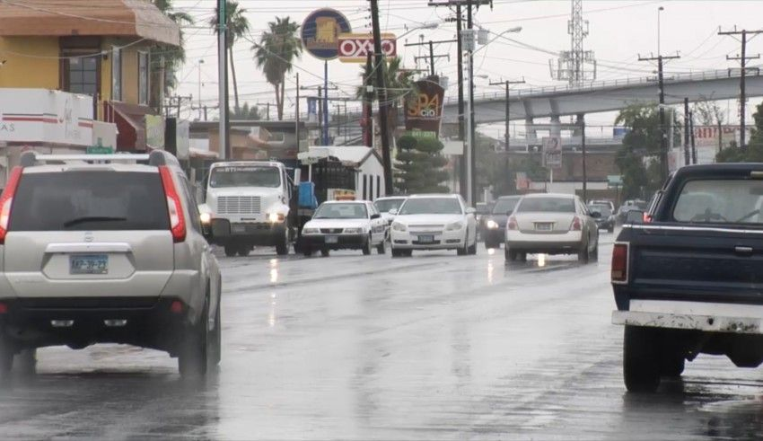 lluvias en Mexicali