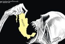 Photo of La muerte devora a México, en portada de San Diego Union-Tribune