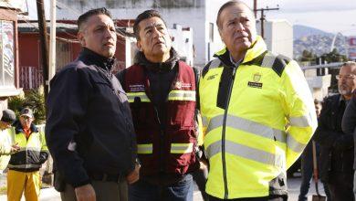 Photo of Presidente Municipal recorre zona afectada por las lluvias en calle Segunda