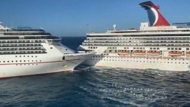 Photo of Fuertes vientos provocan choque de cruceros en Cozumel