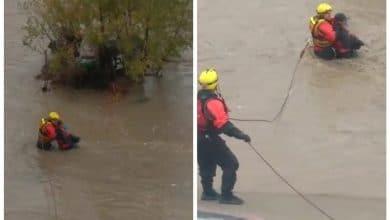 Photo of Rescatan hombre con hipotermia; vivía en el árbol