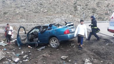 Photo of Se accidentan en La Rumorosa por usar el celular
