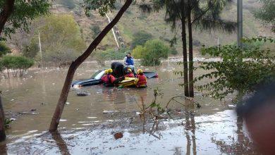 Photo of Rescatan a hombre atrapado en encharcamiento
