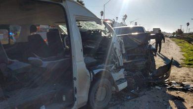 Photo of Mega choque en carretera Rosarito-Tijuana